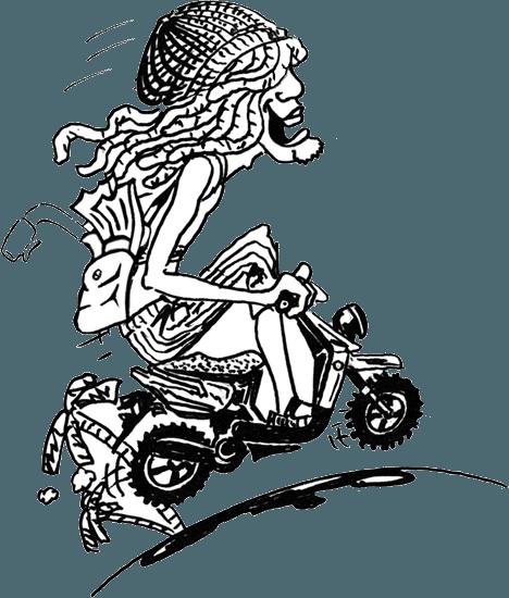 Moped Gas Tank
